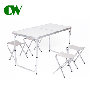 aluminum folding banquet bbq balcony table