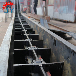 China professional high speed heavy duty inclined redler chain scraper conveyor for sale