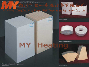 China manufacturer High Shock Resistance Honeycomb Ceramic regenerator With Bottom Price