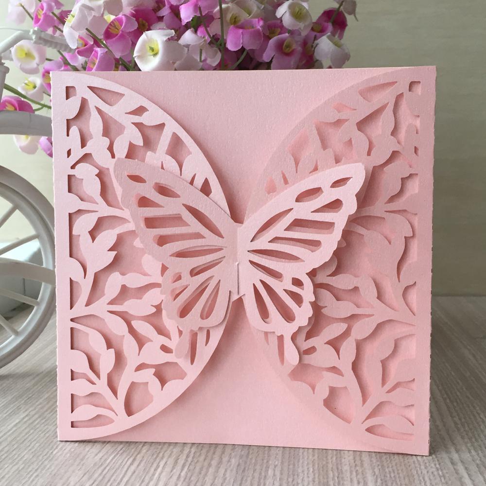 Рождеством, резные открытки бабочки