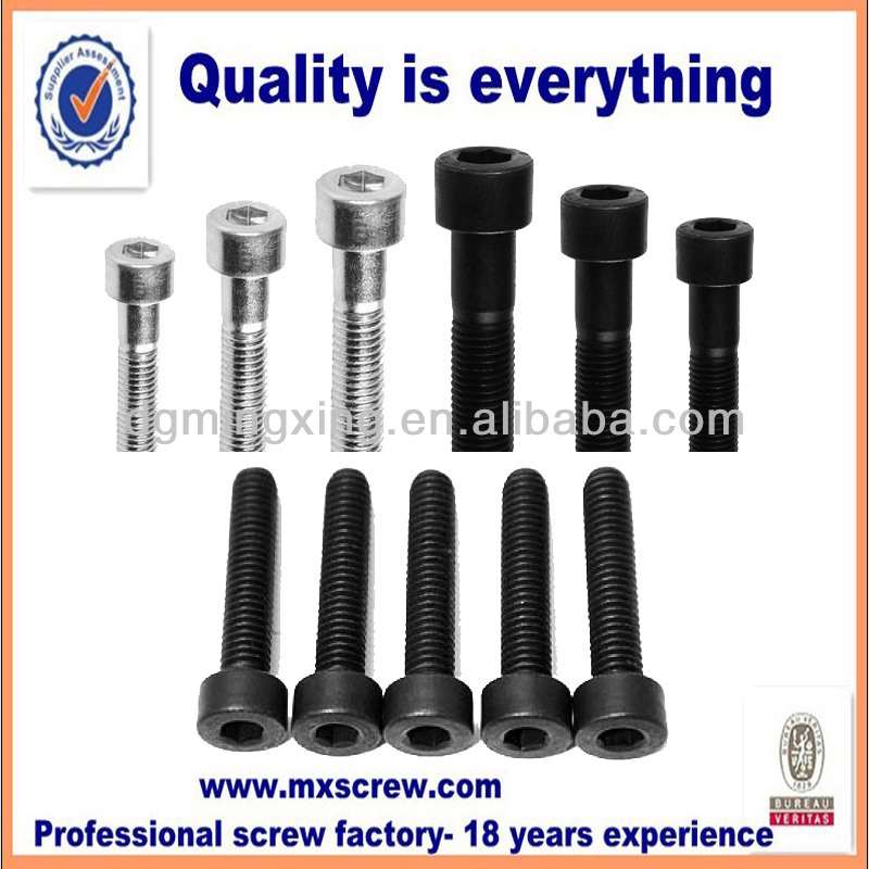 China fastener manufacturer sell cylinder hex drive bolt