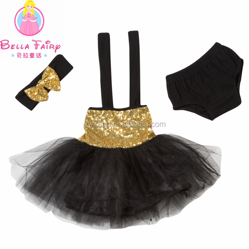 666cd0eec96 Wholesale multicolor sequin baby romper tutu sets with headband baby sequin  dress