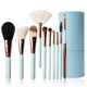 Makeup brush set 10 pieces your own brand make up brush makeup kits
