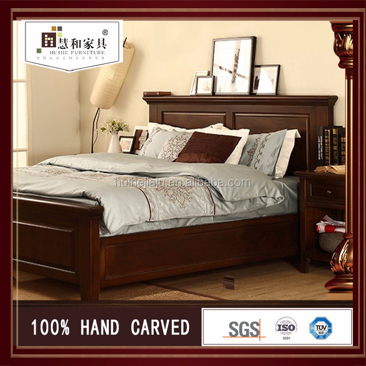 Personalizado simple doble cama de dise o en bosque cama doble dise os en madera doble de madera - Disenos de camas de madera ...