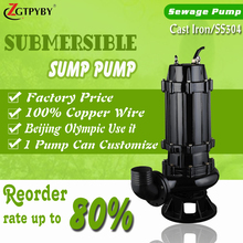 good performance drainage and sewage pumps submersible sewage pump 50 hz sump pump 15 kw