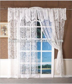 Bon Lace Kitchen Curtain Lace Curtain With Valance ,Country Kitchen Curtains  Valances And Swag