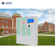 "Quick Charge finger print cell phone charging kiosk station with lock box with 19"" touch screen APC-24B"