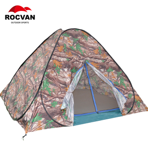 2person Area and blue,green Color folding beach tent