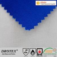 Drotex Non toxic fire retardant anti-bacterial treated cotton antibacterial fabric