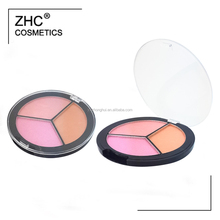 CC4261 Best selling blush makeup palette with customized color and logo