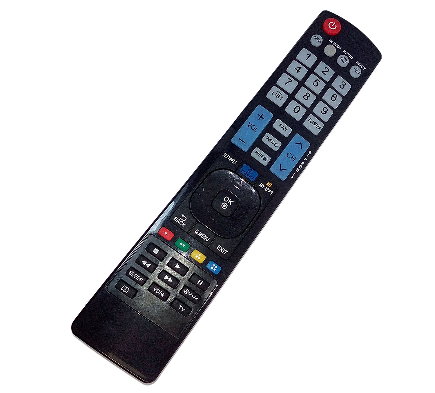 Replaced Remote Control Compatible for LG 32LF580B-UA 50LF5800-UA 50LF6100-UA 55LF6090-UA 60LF6090-UA LED HD TV
