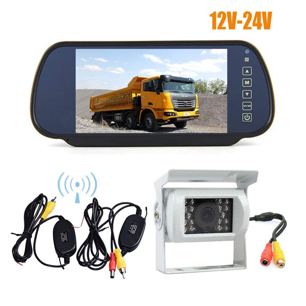 Boss Audio LPCWTR30 High Resolution Rear View Car License Plate Mount Camera Wireless Video Transmitter /& Receiver Boss Audio Systems Inc.
