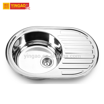 Professional safety luxury big single bowl stainless steel kitchen sink