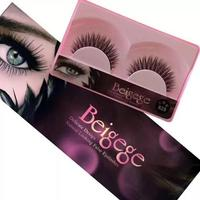 New Styles Pink Box Magnetic Strip False Lashes 3d Silk Lash Synthetic Fiber Eyelash