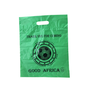 Eco Friendly Plastic D2W EPI 100% OXO Biodegradable Die Cut Bags
