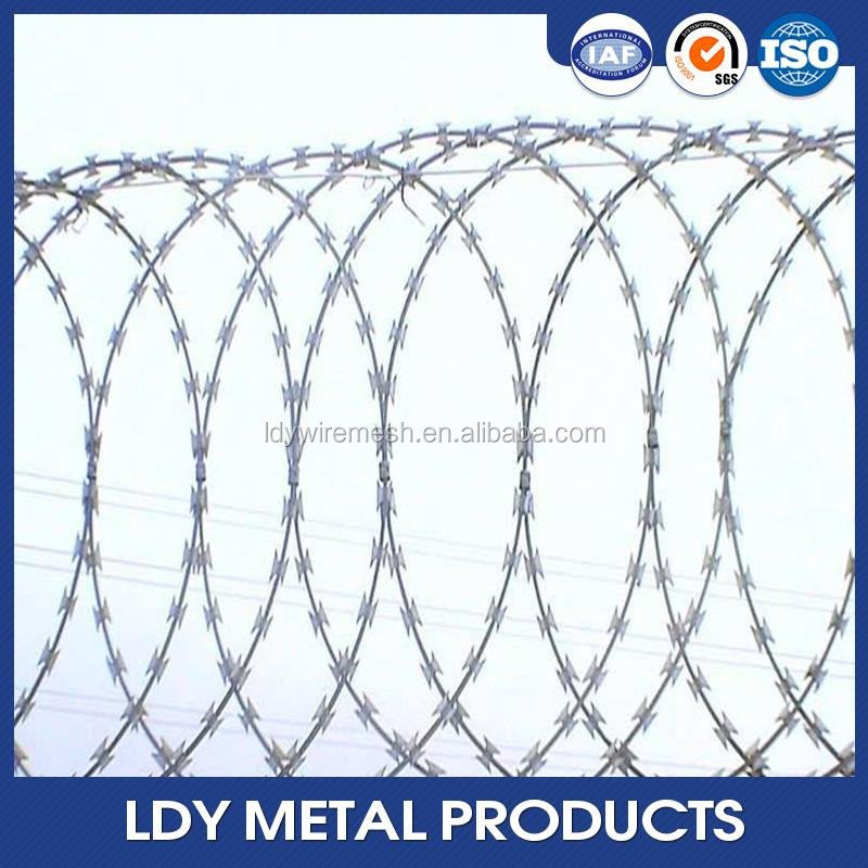 Military Razor Barbed Wire, Military Razor Barbed Wire Suppliers and ...