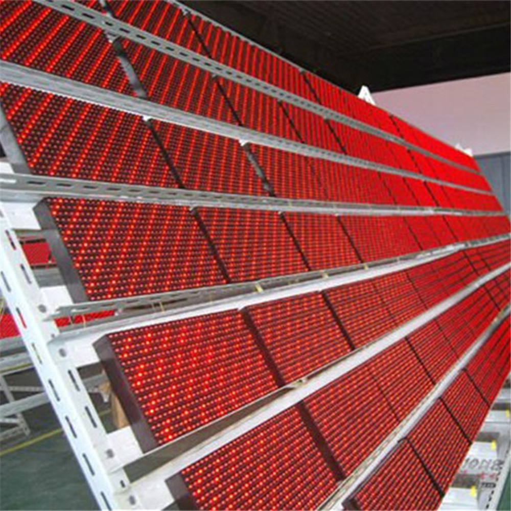 32*16 outdoor single color led display module p10 red / P10 led module
