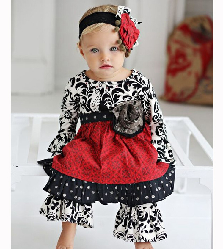 China manufacture wholesale children's toddler boutique clothing