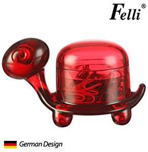 (German Design) Felli -Turtle Clip Holder. Cute/adorable gift, save 15% off(red)(U443265)