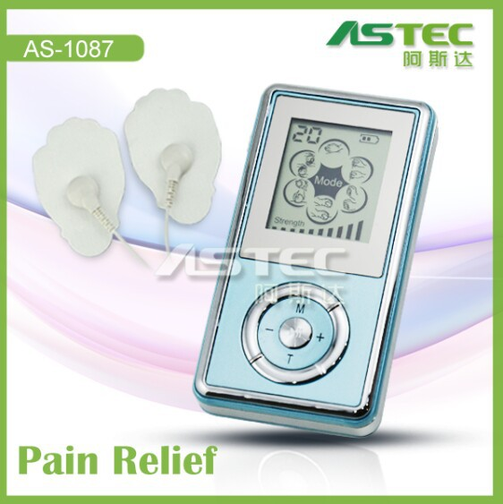 Portable physiotherapy muscle stimulator, mini tens machine