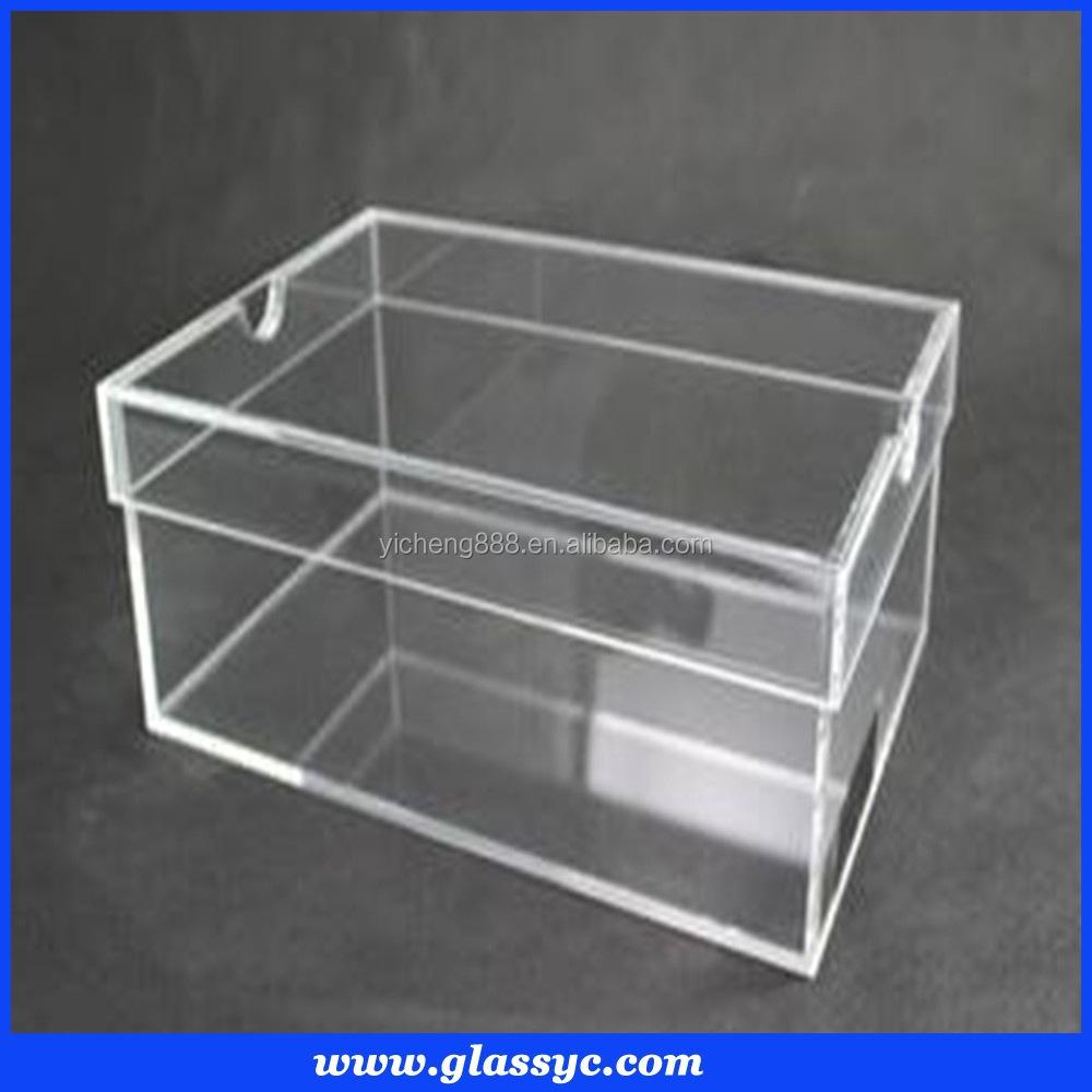 Acr Lico Transparente Caja De Zapatos Con Tapa Transparente  ~ Cajas Transparentes Para Zapatos
