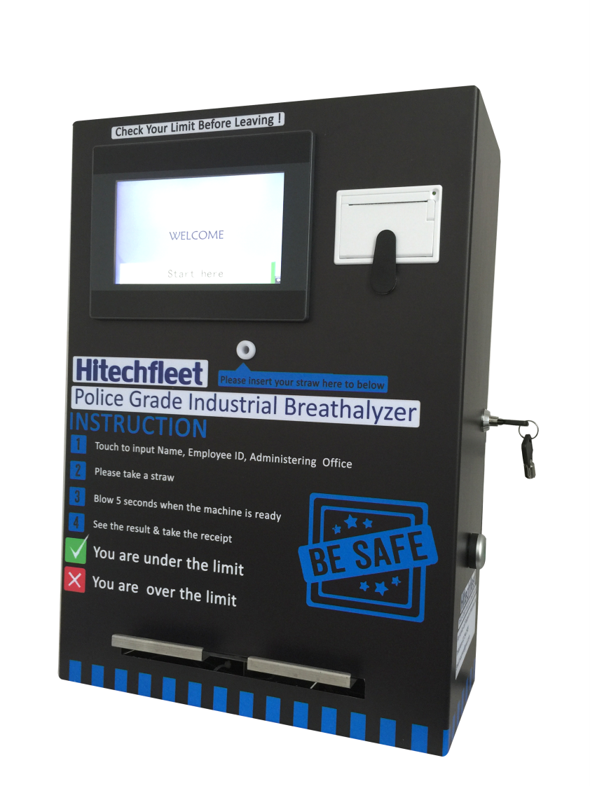 Disposable smart public police breathalyzer at low price