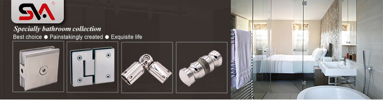 China Wholesales Shower Room Stainless Steel U Glass Clamps
