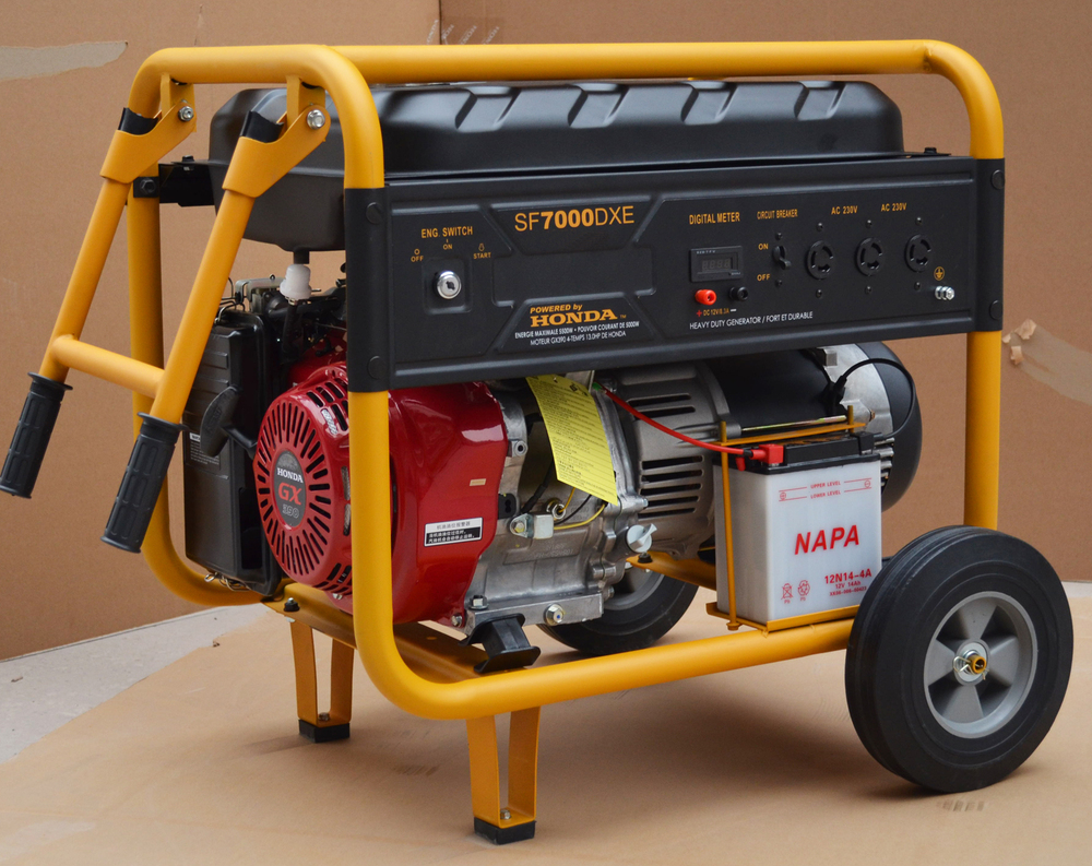 190f Engine 16hp Gasoline Powered Ac Three 3phase 380v 50hz 6.5kva ...