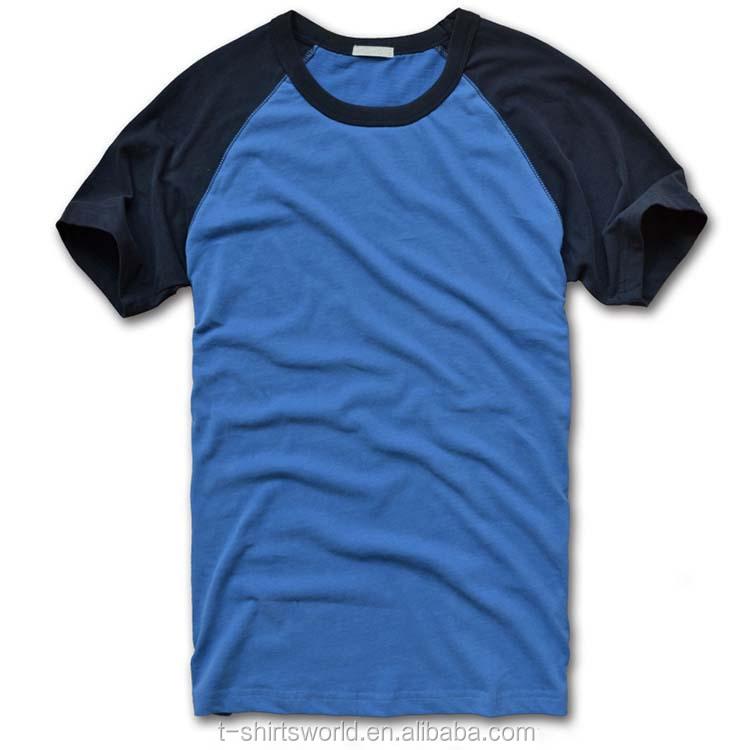 7549591f9 Men s New Style Boutique Cotton Plain Raglan Baseball Jersey T-shirts