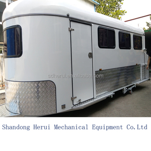 China Customized China exported camper trailer with kitchen system float