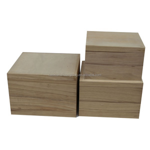 Eco friendly wooden box for photo storage in hot sale