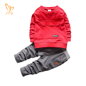 Baby Boys Kids 2 Pieces Fall Clothing Set T-Shirt Pants Outfits