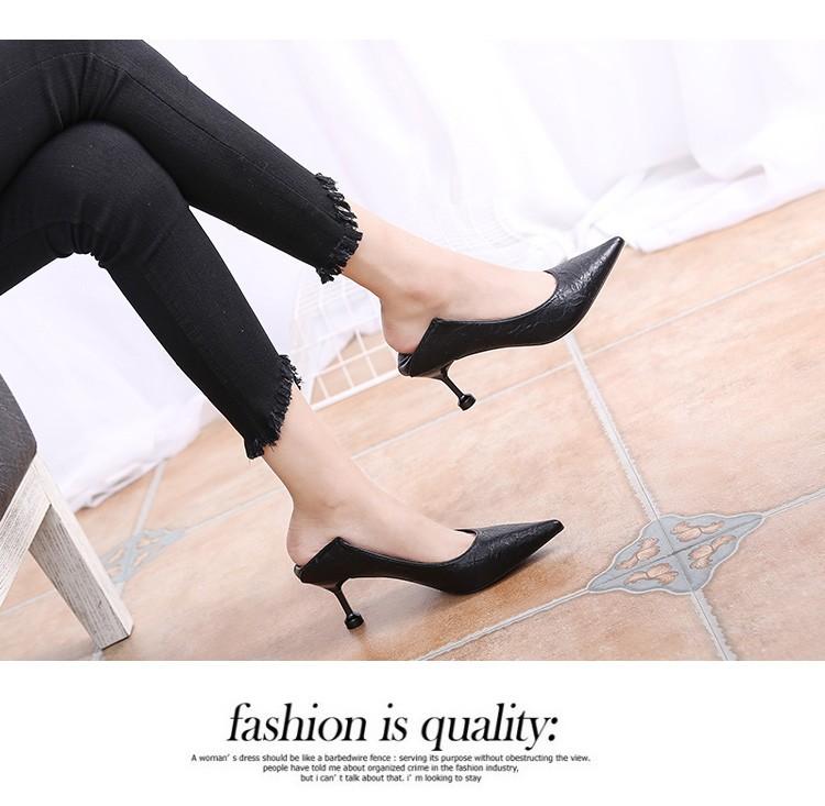 leather heels dress toe shoes pointy vintage genuine plicated bridal kitten qwnxP4UBEW