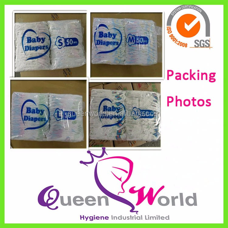 High Quality Competitive Price Disposable Color Magic Baby Diaper ...
