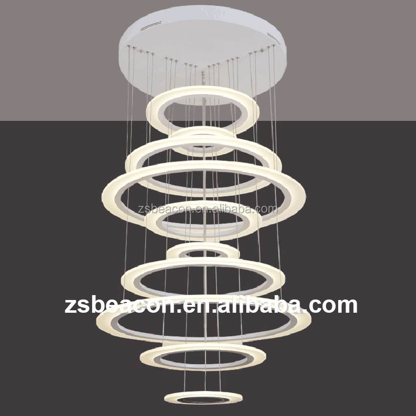 2016 New design Modern high-end modern indoor led hardware hotel pendant lighting lamp chandeliers Factory Outlet