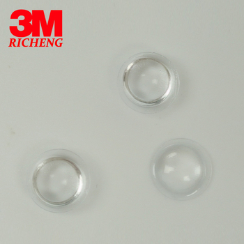 3m Bumpon Glue Dots With Clear Adhesive And Rubber Feet