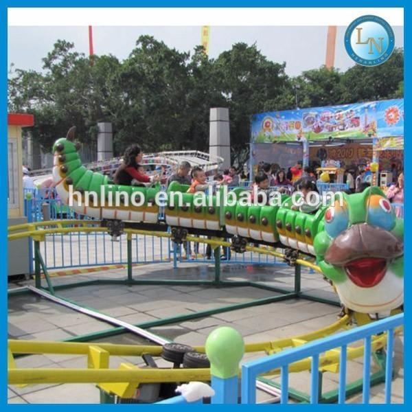 Amusement Park Mini Train Ride Electric Mini Apple Roller