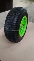 beach barrow wheels pneumatic rubber wheel with plastic rim 6.50-8