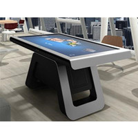 43 inch lcd tv kiosk interactive touch table