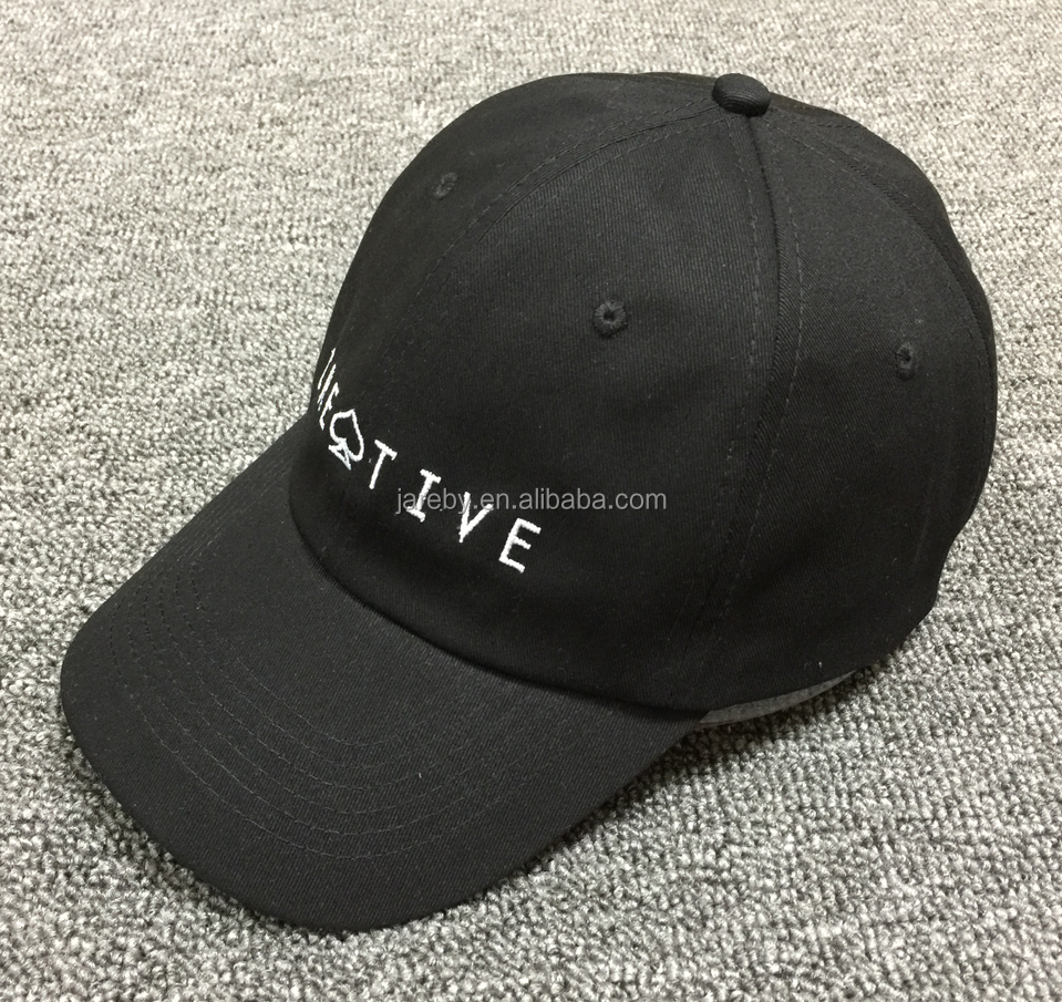 83947e1349cf2 White Baseball Cap custom Advertising Cap plain Dad Hat Embroidery ...