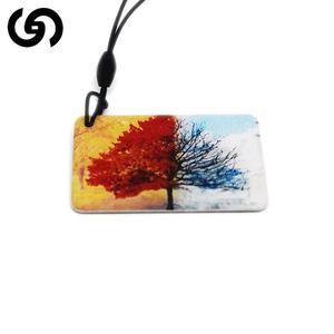 High quality adapt price customized glue card,crystal smart card,rfid card for lock