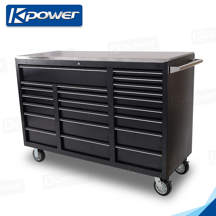 61 Inch 22 Drawers Tools Storage Metal Roll Cabinets