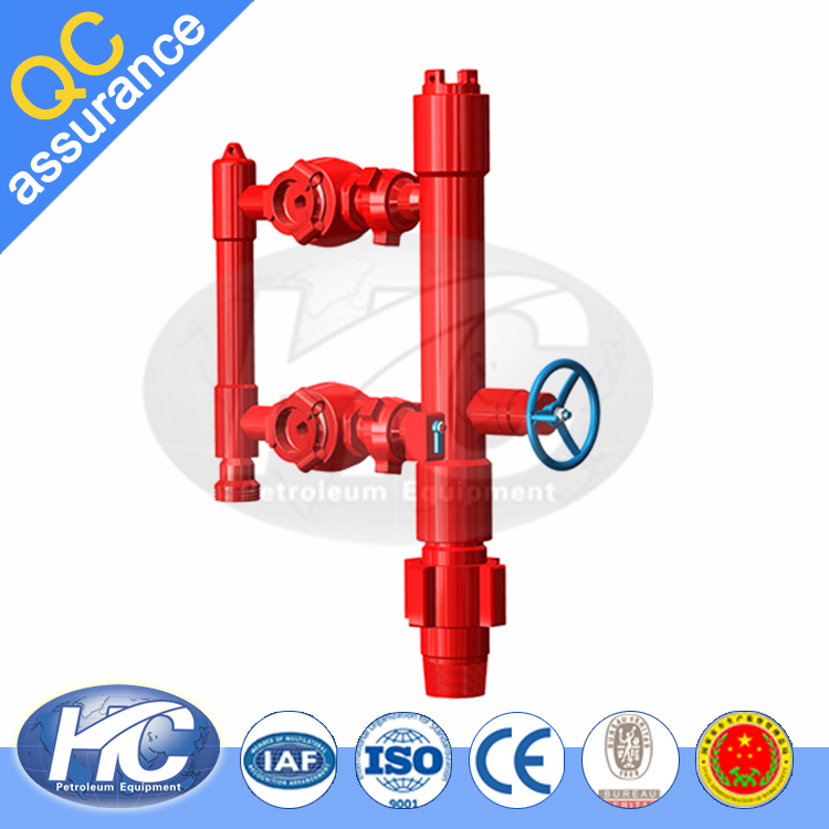 High quality plug cement head / cement casing head / oil well cementing head for sale