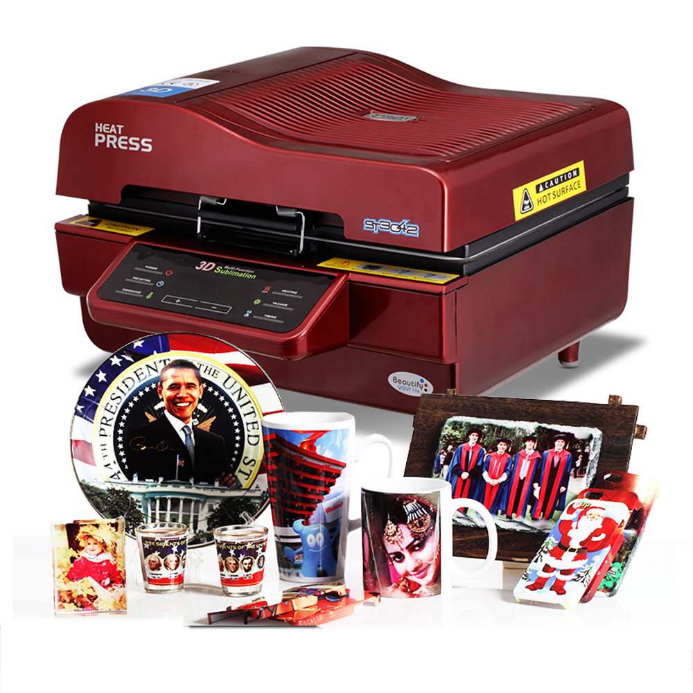 3D sublimation vacuum printing machine/3d sublimation