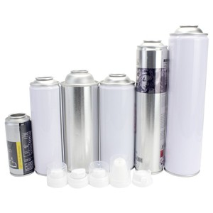 Standard Tin Can Sizes White Coating Empty Aerosol Tin Cans