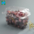 Clear round OEM products plastic fruit salad container Plastic Fruit Packaging