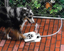 P-03 new model Outdoor Paw Activated Fountain drinking for pet