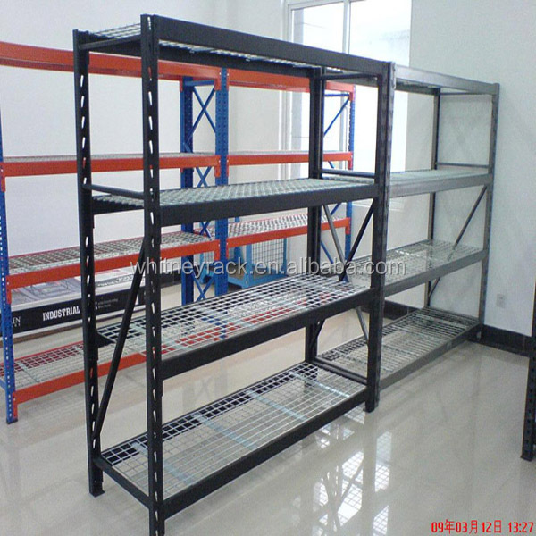 Designed Steel Warehouse Racks Used Cooler Shelves,slotted Angle Shelving,kitchen  Rack