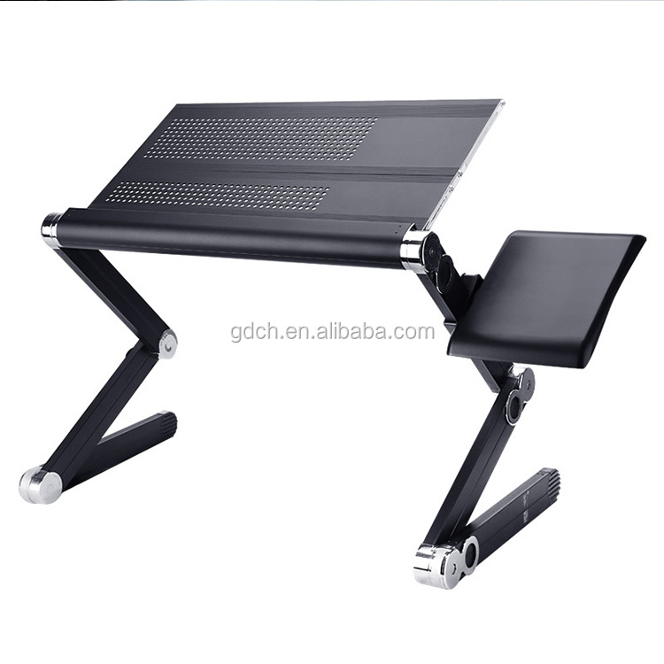 Notebook Laptop Desk table Stand Bed Table Folding Foldable Adjustable With Two Handle