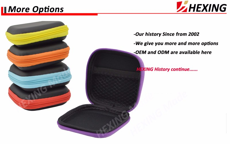 2016 Portable Earbud Earphone Pouch Durable Headphone Bag Protective Carrying Case